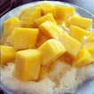 Mango Milk Ice