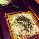 蕎麦冷麦 嵯峨谷