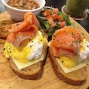 #tbt to salmon egg Benedict at dolce tokyo.