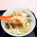 Ding Ji Mushroom minced meat noodles.