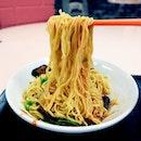 Ding Ji minced meat noodles.