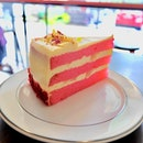 Rose Lychee cake.