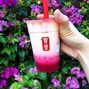 @gongchasgofficialRose Milk Tea with White Pearls.