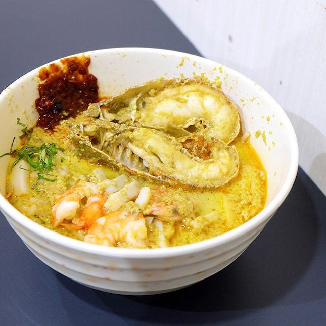 The Original Katong Laksa Since 1950s Janggut Laksa It was late and I was hungry after a long meeting...