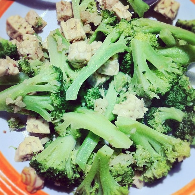 Broccoli And Tempe My Fav D Homemade Lunch Healthy