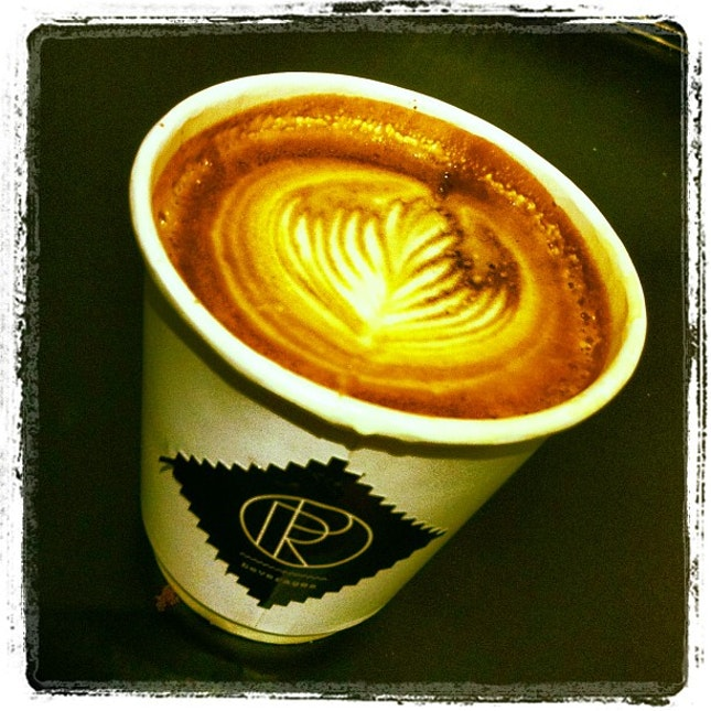 Latte by the Boss!