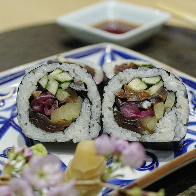 Vegetarian 🌱omakase at Oribe Sushi restaurant #amayzing🌱 #Burpple #amayzing_bukitbintang #amayzingeatskl
