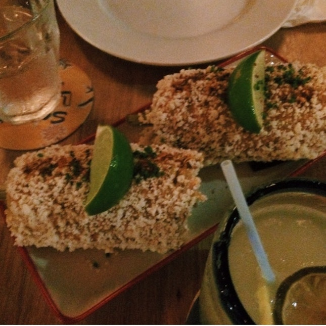 Elotes - Mexican Street-style Grilled Corn