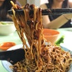 Dry Beef Noodles With Beef Slices