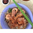 Prawn And Pork Rib Noodle Dry ($5.50)