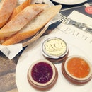 Woke up craving for some of that amazingly yummy French butter paired crusty bread from PAUL.