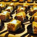 Some lovely canapés by @andrechiang_sg at last nights event consentino media event!