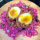 Scotch Egg ($6.90) @ By The Fire  This was definitely DA-BOMB!