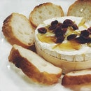 [ Melt Down Baked Cheese ~ $17.90 ] • • • Love the combination of gooey melted Camembert Cheese, honey and cranberry.