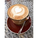 #latte of the day #coffee #cafesg #cafe #singapore #foodie #instafood #burpple