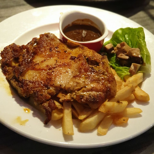Truffle Sauce Chicken Cutlet @ The Grumpy Bear [$16.90/2]