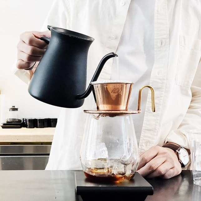 Watching a pourover in progress is extremely therapeutic.