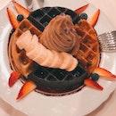 Soft Serve Waffles