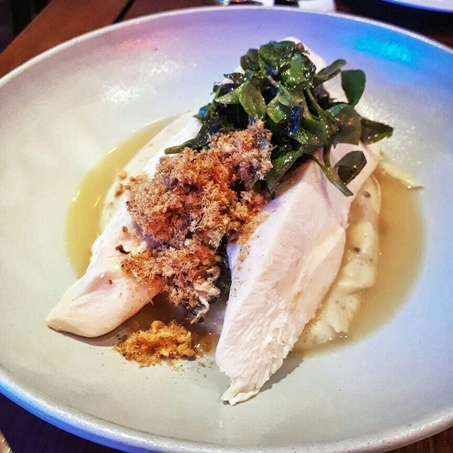 Chicken Breast With Truffle Mousseline