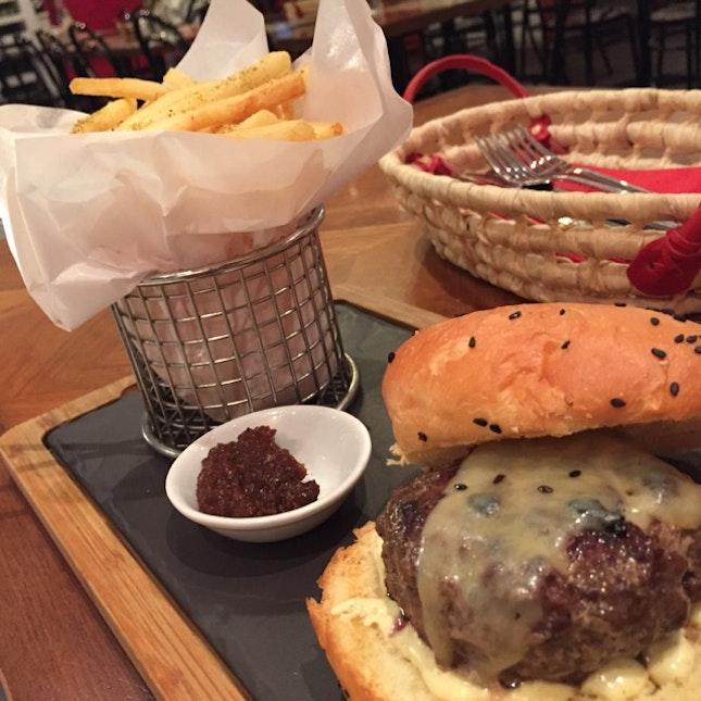 The 'B' Burger
