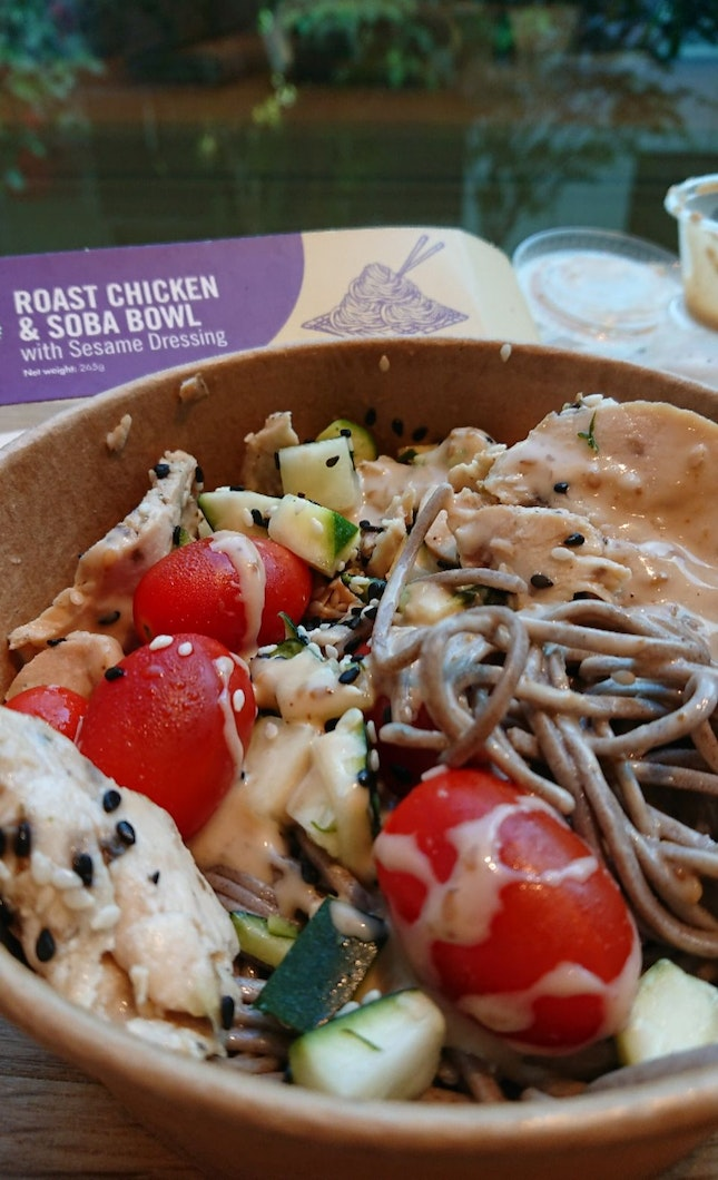 Roast Chicken & Soba Bowl