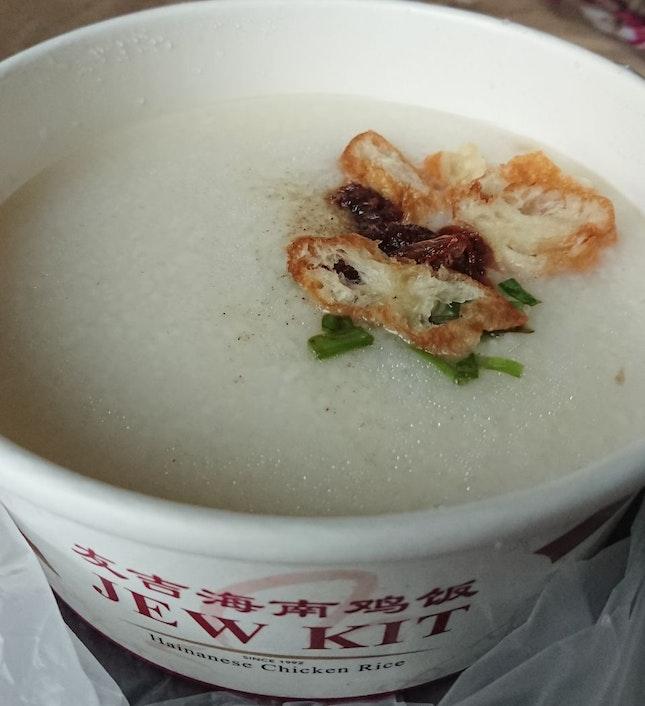 Shredded Chicken Porridge