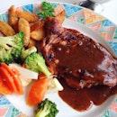 Grilled Chicken Chop