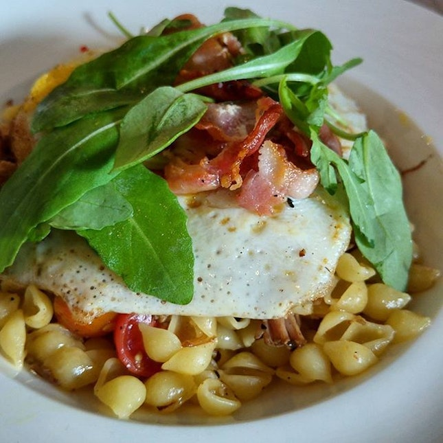 """Peperoncino Pork Cocciolini @FFThought  To quote Benjamin, """"the pasta is so cute!"""""""