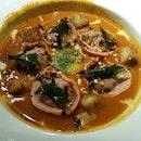 Excellent Chilli Crab Ravioli