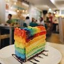 Rainbow Cake ($10)