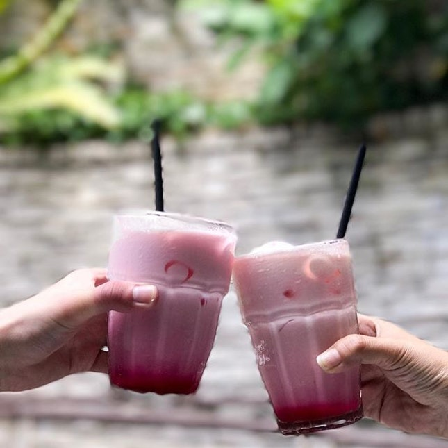 Iced Rose Bandung Ice Cream Ripple!