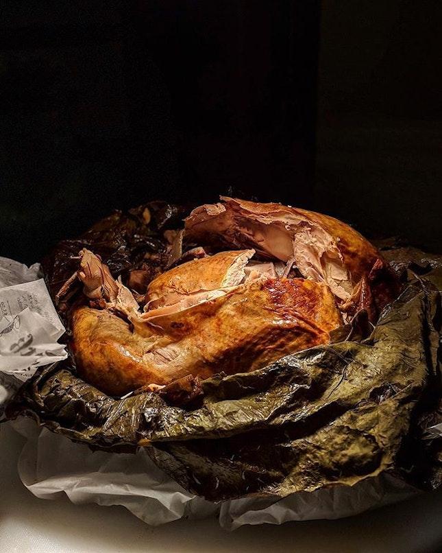 An Illuminating Christmas 🎄 Baked Eight Treasures Turkey.