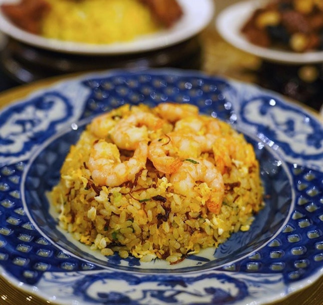 Limited editionXO Fried Rice with Shrimps & Eggs ($15.80)