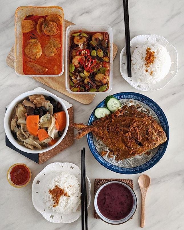 Mouthwatering Nyonya food at home!