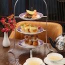 Five-course afternoon tea