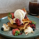 Summer Fruits Waffles ($18)