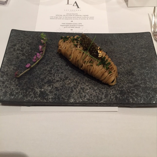 Selection Of Kristal Caviar
