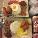 8 October 2016: Nasi Lemak dinner!