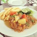 Hainanese Chicken Chop!