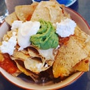 Avocado Cheese Nachos (3.7/5) Not my average kinda food, but Yummmzzz..The cheese chunks melts in your mouth.