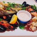 Greek Grilled Seafood Platter