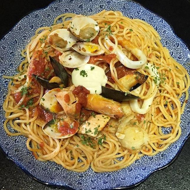 Seafood Pescatora from Youmenya Geomon.