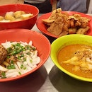 Yong tau foo with Lou su fun & curry chee cheong fun @ Yap Hup Kee, Pudu is always one of my favourite lunch spots...