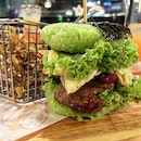 In conjunction with 🇲🇾National Day, @sanoookmy launches Nasi Lemak burger (RM12.90): flavourful pandan rice+ chicken thigh+fried egg+ authentic sam bak sauce with mini ikan bilis and peanut!