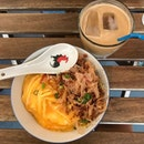 """Awesome Food  & Ice Latte """"kaw"""""""