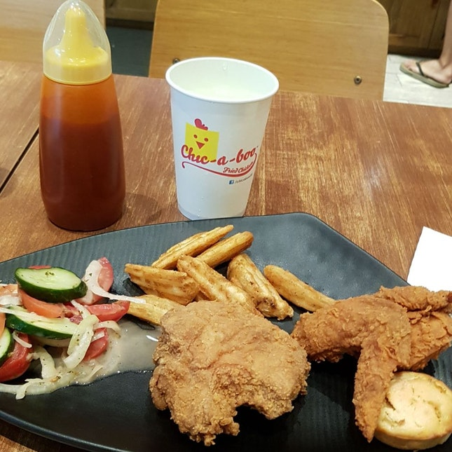 Delicious Fresh Fried Chicken