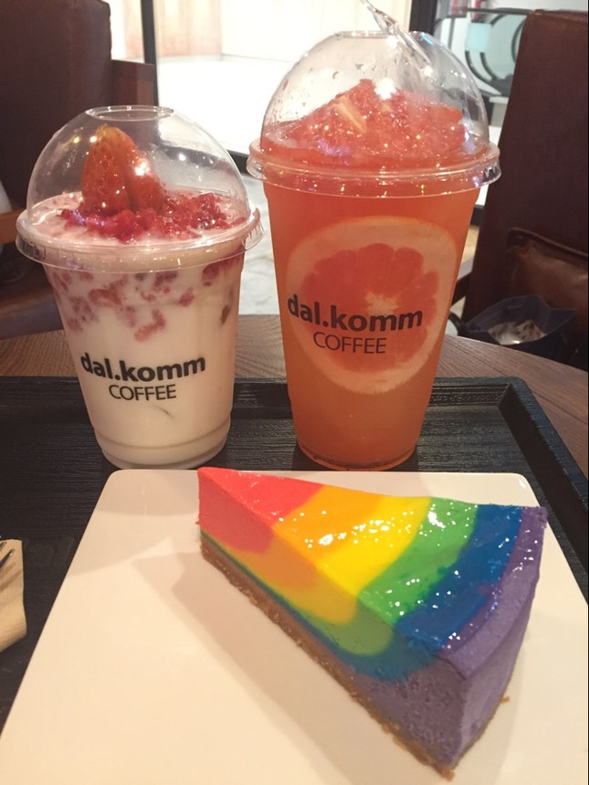 Cheesecake And Special Drinks