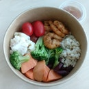 Starbucks Cajun Prawns Salad Bowl