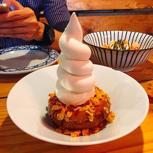 New year resolution #2 : cut off dessert intake.
