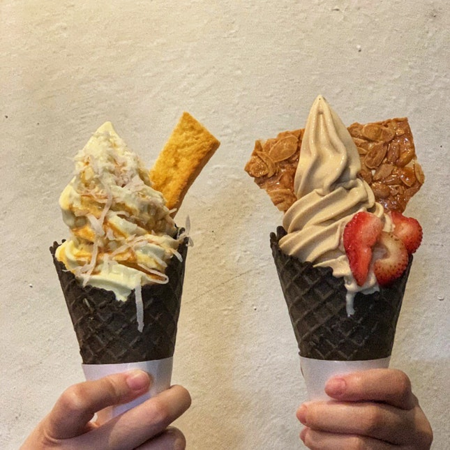 Kaya Toast Ice Cream And Earl Grey Lavender